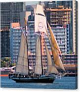 Tall Ship In San Diego  Canvas Print