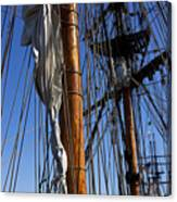 Tall Ship Rigging Lady Washington Canvas Print
