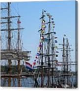Tall Ship Series 9 Canvas Print
