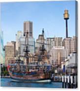 Tall Ships - Sydney Harbor Canvas Print