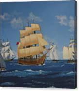 Tall Ships Duluth I Canvas Print