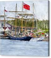 Tall Ships Festival Canvas Print