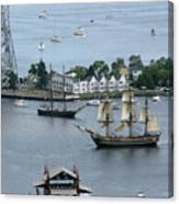Tall Ships -hms Bounty Canvas Print