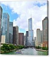 Tall Towers In Chicago Canvas Print