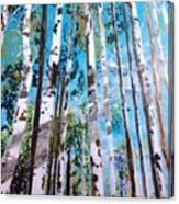 Tall Whites Canvas Print