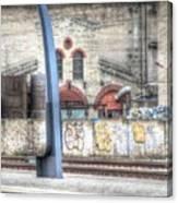 Tallin Graffiti Station Canvas Print