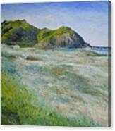 Tallows Beach Byron Bay Northern Nsw Australia 2002  Canvas Print