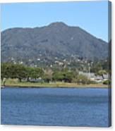 Tamalpais View From Bayfront Park Canvas Print