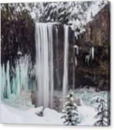 Tamanawas Falls 1 Canvas Print