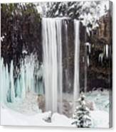 Tamanawas Falls 2 Canvas Print