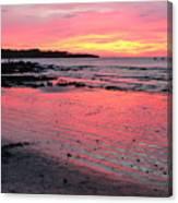 Tamarindo Sunset Canvas Print