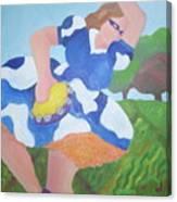 Tambourine Girl Canvas Print