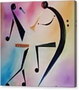Tambourine Jam Canvas Print