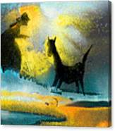 Tamed Canvas Print