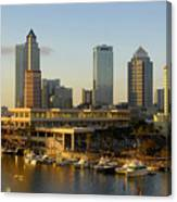 Tampa Bay And Gasparilla Canvas Print