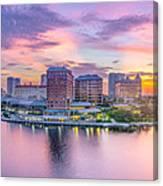 Tampa Bay Panorama  Canvas Print