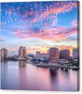 Tampa Bay Sunrise Canvas Print