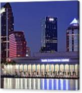 Tampa Convention Center Canvas Print
