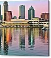 Tampa Elongated Canvas Print