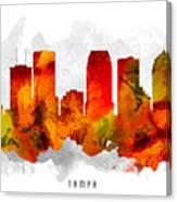 Tampa Florida Cityscape 15 Canvas Print