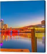 Tampa Sunrise Canvas Print