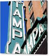Tampa Tampa Canvas Print