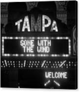 Tampa Theatre 1939 Canvas Print