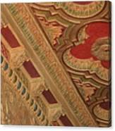Tampa Theatre Ornate Ceiling Canvas Print