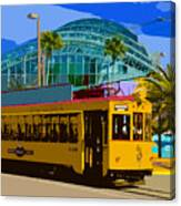 Tampa Trolley Canvas Print