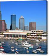 Tampa's Day Panoramic Canvas Print