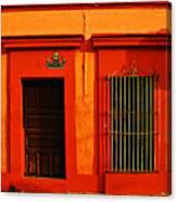 Tangerine Casa By Michael Fitzpatrick Canvas Print