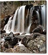 Tangle Falls Closeup 5 Canvas Print