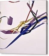 Tangled Ribbons Canvas Print