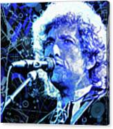 Tangled Up In Blue, Bob Dylan Canvas Print