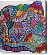 Tanglemania Canvas Print