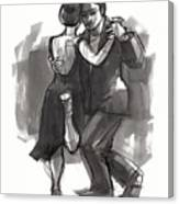 Tango 6 Canvas Print