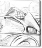 Tango Bridge. 27 March, 2015 Canvas Print