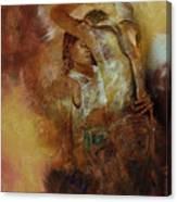 Tango Dance 998al  Canvas Print