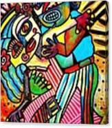 Tango Dance Of Love Canvas Print