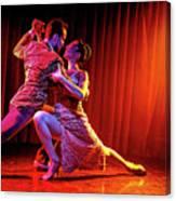 Tango Split Canvas Print
