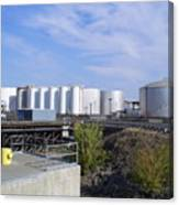 Tank Farm Nustar Canvas Print