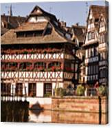 Tanners House Strasbourg Canvas Print