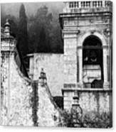 Taormina Church Detail Canvas Print