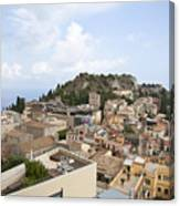 Taormina View II Canvas Print
