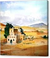 Taos Adobe Canvas Print