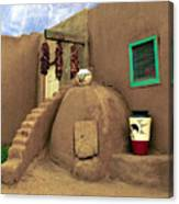 Taos Oven Canvas Print