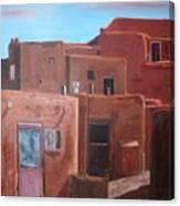 Taos Pueblo Viii Canvas Print