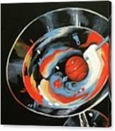 Tar Heel Martini III   Canvas Print