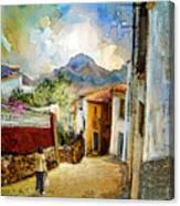 Tarbena 03 Canvas Print