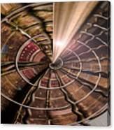 Targeting Books Canvas Print